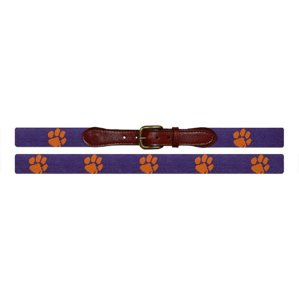 Clemson Needlepoint Belt - OnwardReserve