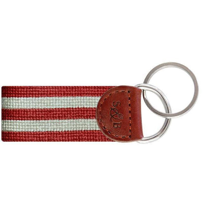 Stars & Stripes Needlepoint Key Fob - OnwardReserve