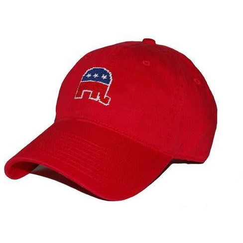 Republican Needlepoint Hat