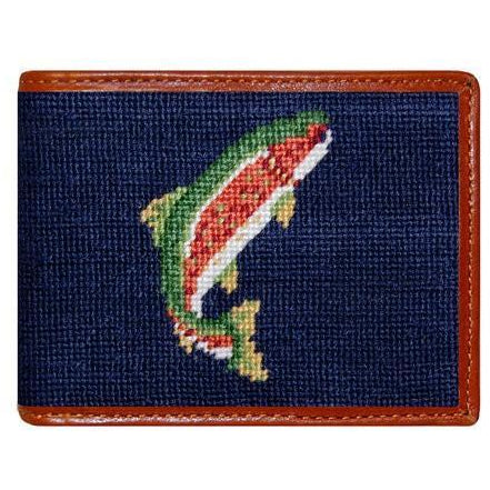 Trout and Fly Wallet