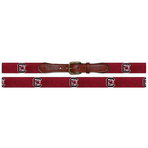USC Needlepoint Belt
