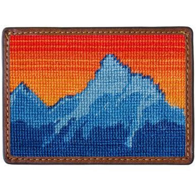 Mountain Sunset Credit Card Wallet
