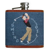 Swing Oil Needlepoint Flask - Onward Reserve