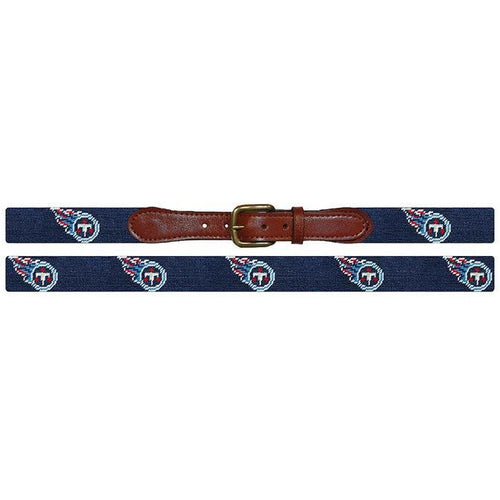 Tennessee Titans Needlepoint Belt