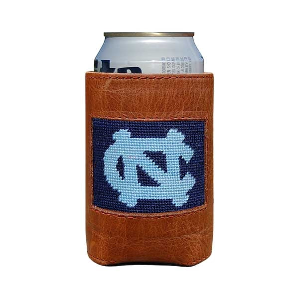 UNC Needlepoint Can Cooler