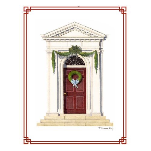 Holiday Door Note Card Set