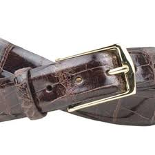 Julian Alligator Belt - Walnut - OnwardReserve