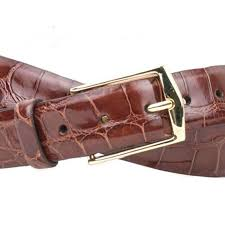 Julian Alligator Belt - Chestnut - OnwardReserve