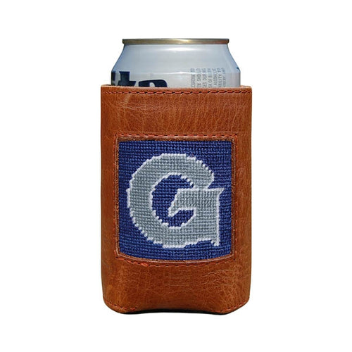 Georgetown Needlepoint Can Cooler - Onward Reserve