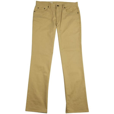 Five Pocket Stretch Pant British Khaki - OnwardReserve