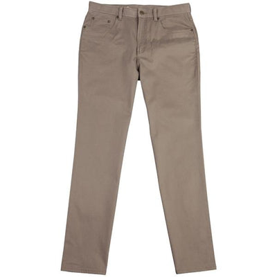 Five Pocket Stretch Pant Walnut - OnwardReserve