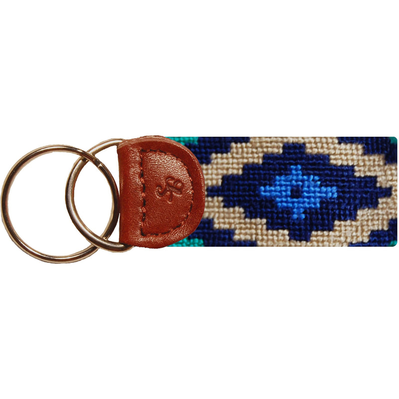 Gaucho Needlepoint Key Fob - OnwardReserve
