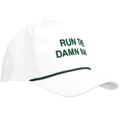 Green Run The Damn Ball Rope Hat