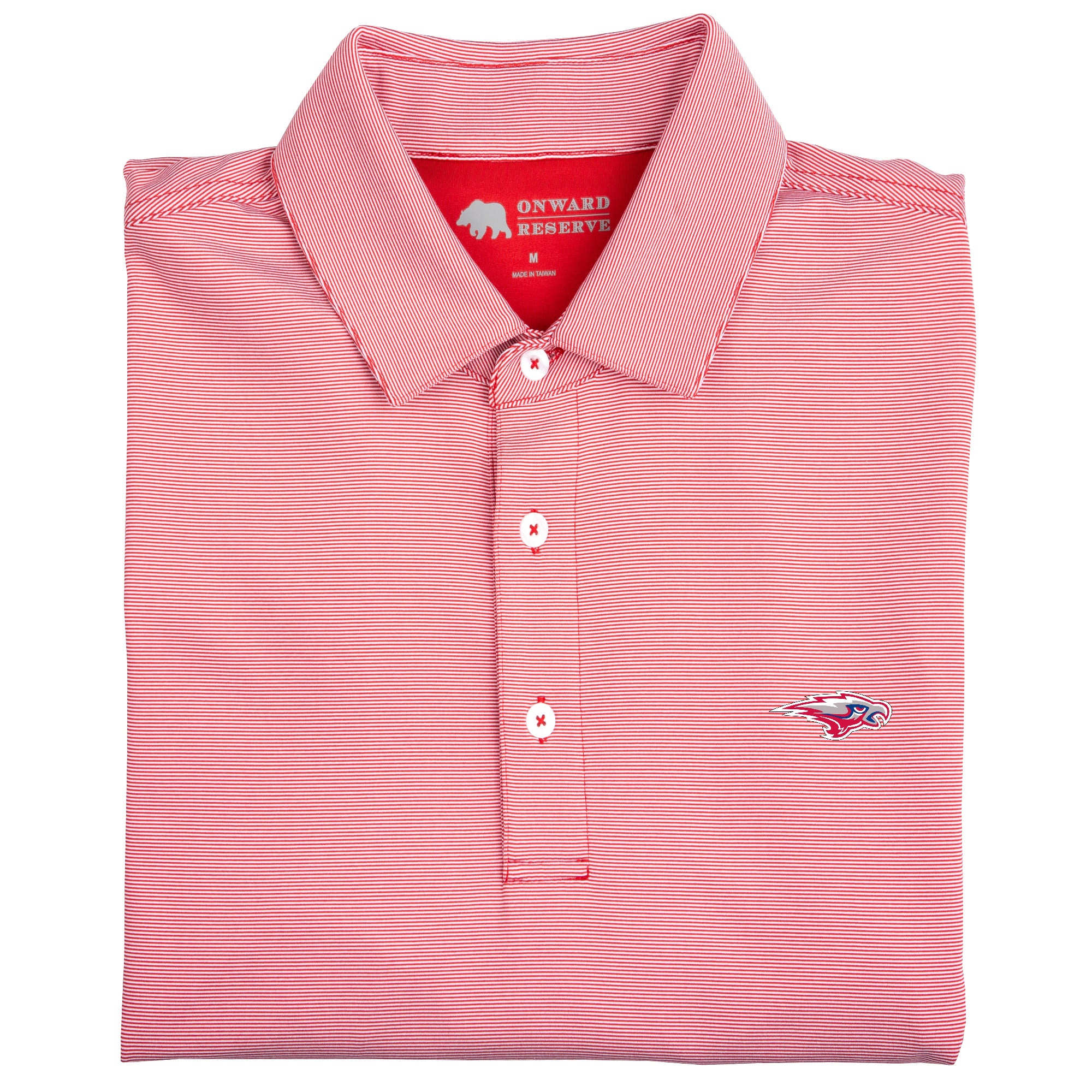 Hammond School Hairline Stripe Performance Polo - OnwardReserve