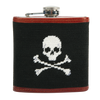 Jolly Roger Needlepoint Flask - Onward Reserve