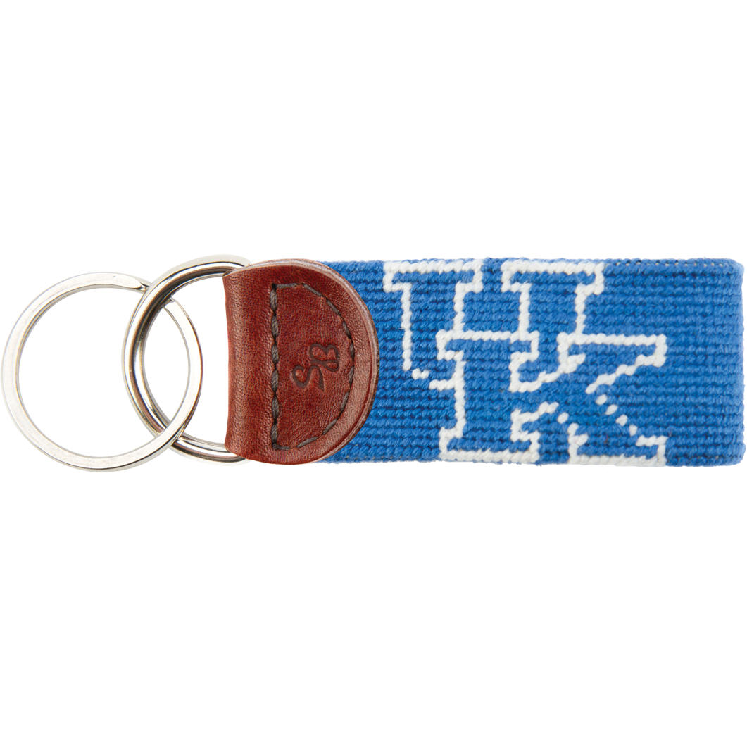 Kentucky Needlepoint Key Fob