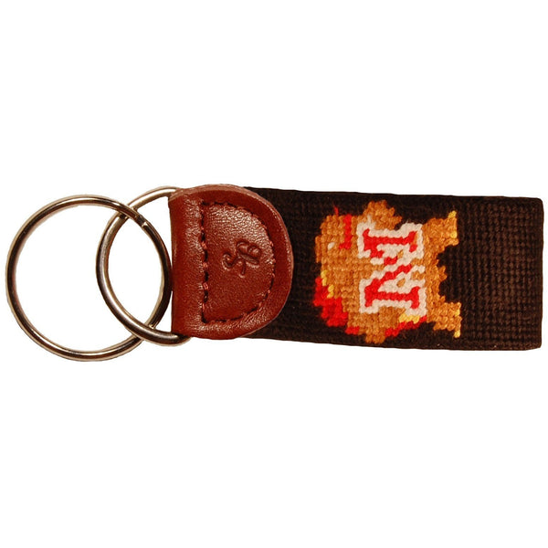 Maryland Needlepoint Key Fob