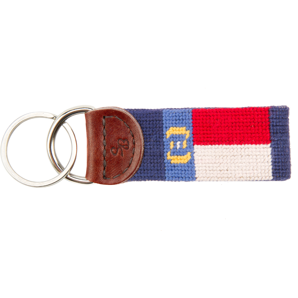State of North Carolina Needlepoint Key Fob - OnwardReserve