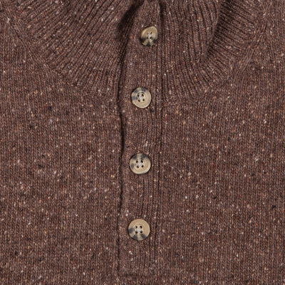 Cole Donegal Wool 4 Button Sweater - OnwardReserve