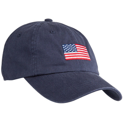 American Flag Cotton Hat - OnwardReserve