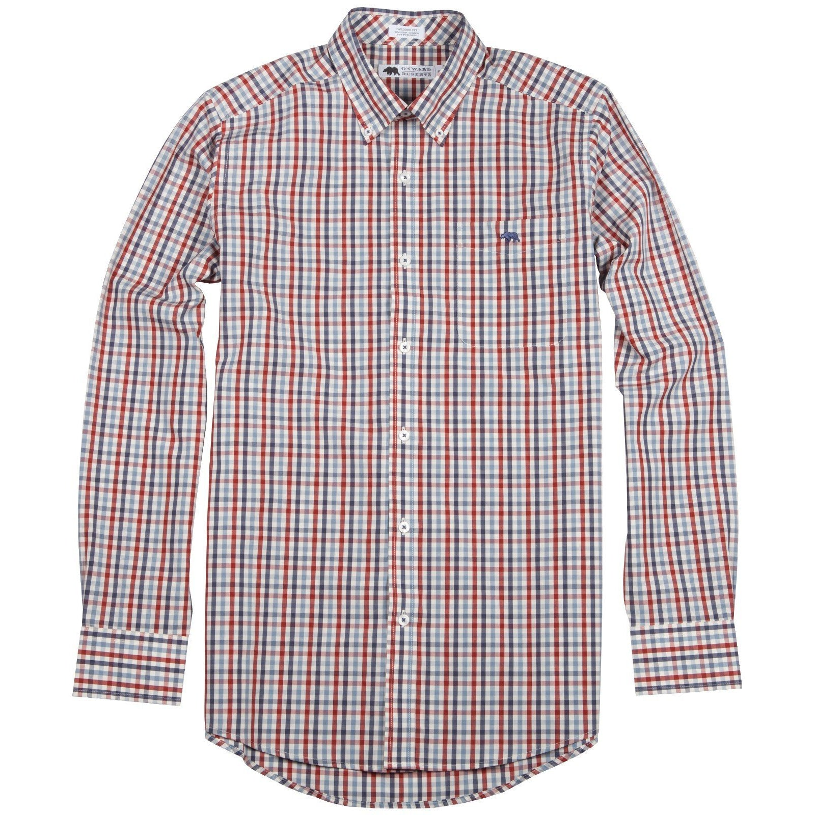 Milledge Tailored Fit Button Down - OnwardReserve