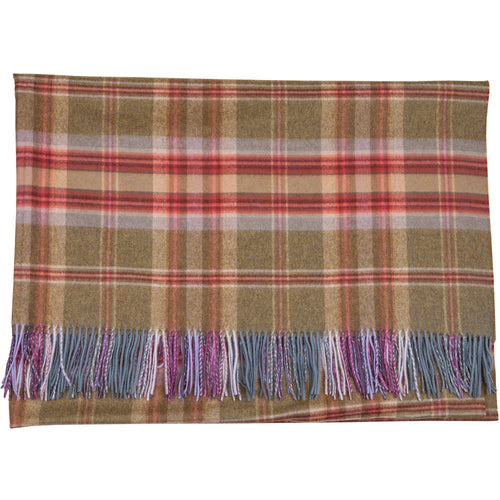 Balbeg Check Cashmere Blanket - OnwardReserve