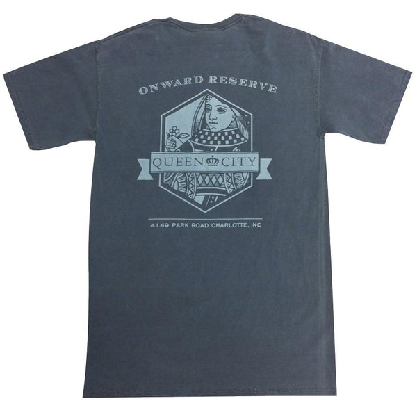 Charlotte Short Sleeve Tee - Navy - OnwardReserve
