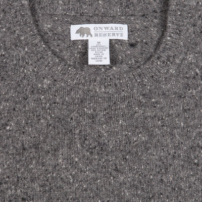 Banks Donegal Wool Crew Neck Sweater - OnwardReserve