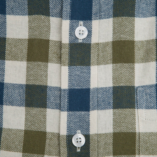 Jasper Flannel - Antique White