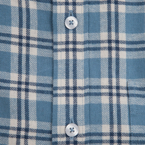 Jasper Flannel - Blue Heaven/Navy