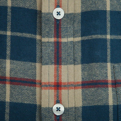 Jasper Flannel - Laurel Oak