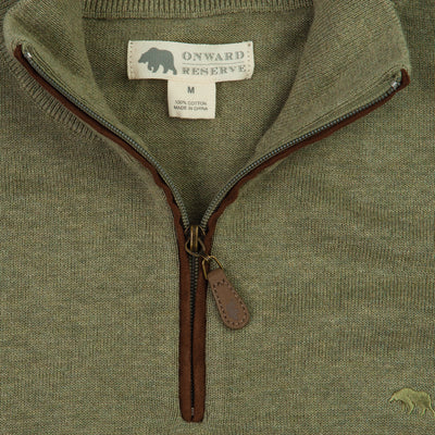 Jackson 1/4 Zip Sweater - Onward Reserve