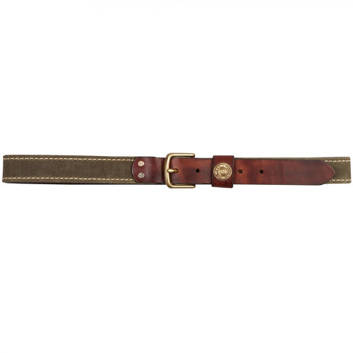 Waxed Canvas Shotgun Belt