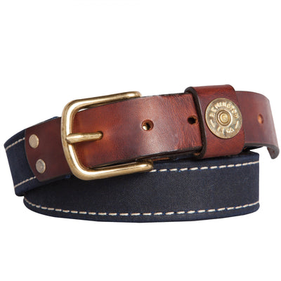 Waxed Canvas Shotgun Belt - OnwardReserve