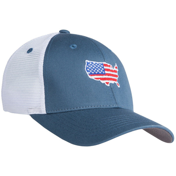 American Flag Trucker Hat - OnwardReserve