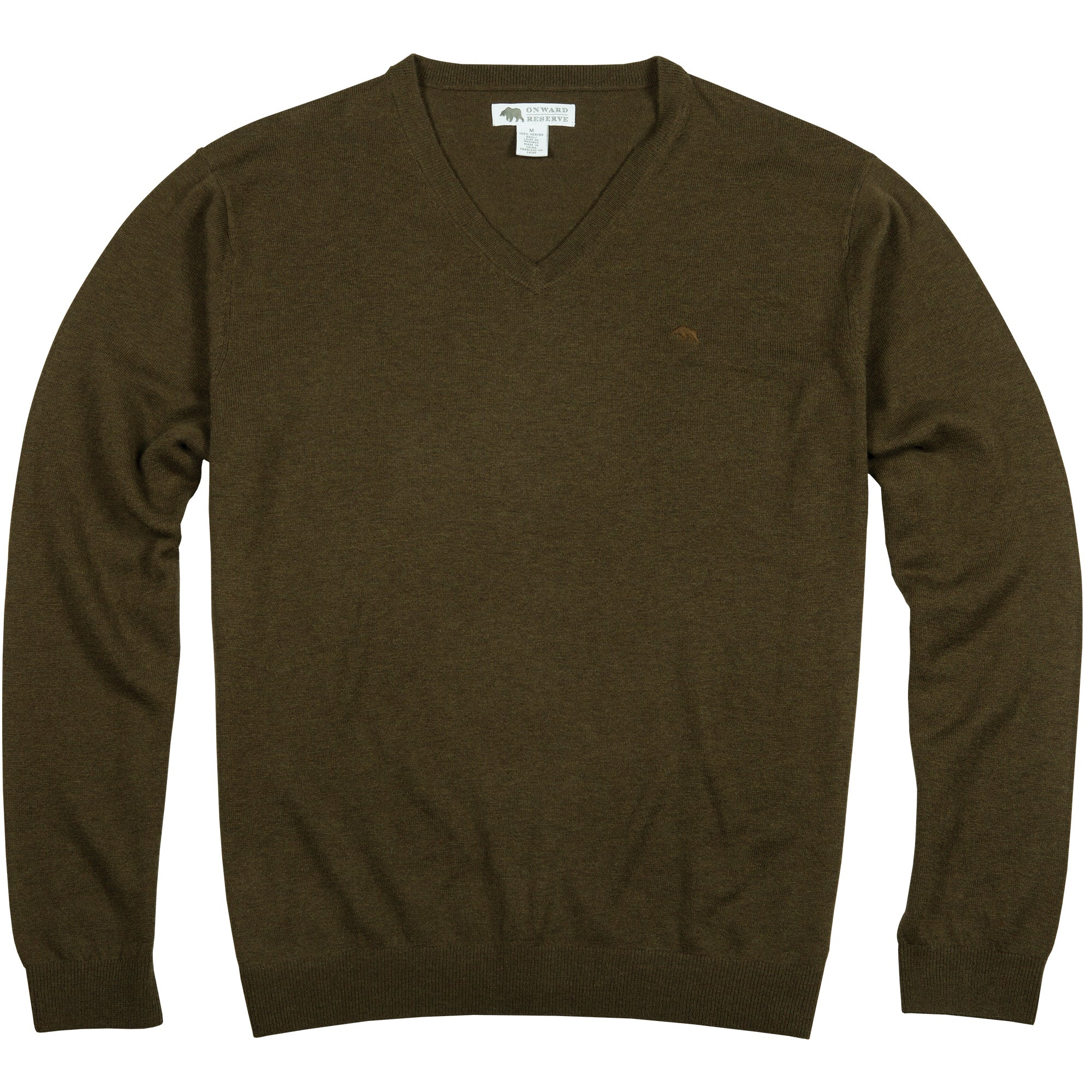Washable Merino Wool Sweater - OnwardReserve