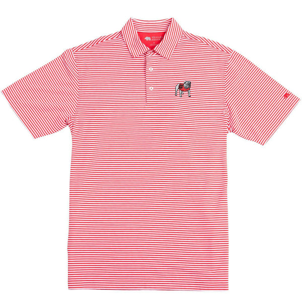 Pro Stripe Standing Bulldog Polo - Onward Reserve