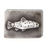 Rectangular Trout Belt Buckle