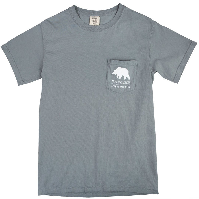 Rustic Bear Short Sleeve Tee - Grey