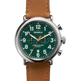 Shinola Runwell 47MM Green Chrono