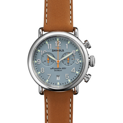 Runwell Slate Blue Chrono 41mm - OnwardReserve