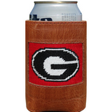 UGA Needlepoint Can Cooler - Onward Reserve