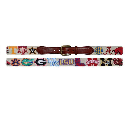 SEC Needlepoint Belt