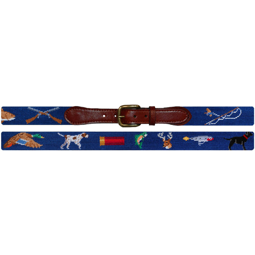Southern Sportsman Needlepoint Belt