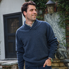 Taylor Donegal Wool Shawl Collar Sweater - OnwardReserve