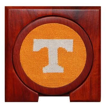 Tennessee Power T Needlepoint Coasters - Onward Reserve