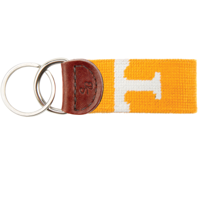 Tennessee Needlepoint Key Fob