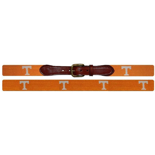 Tennessee Power T Needlepoint Belt