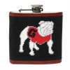 UGA Needlepoint Flask - Onward Reserve