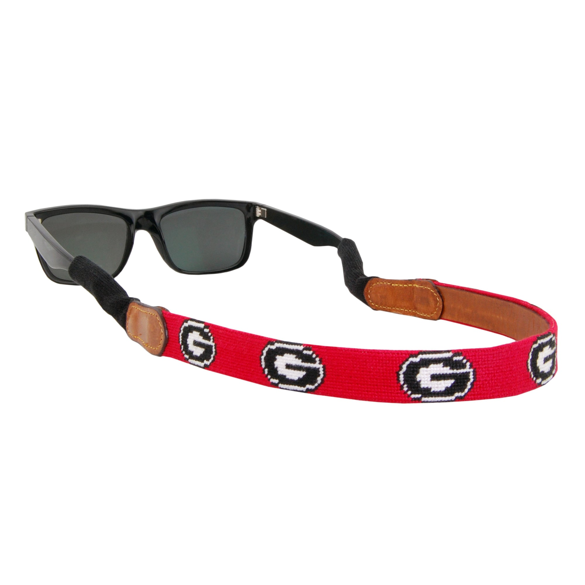 UGA Needlepoint Sunglass Strap - OnwardReserve